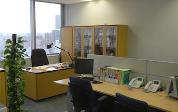 事務所の様子